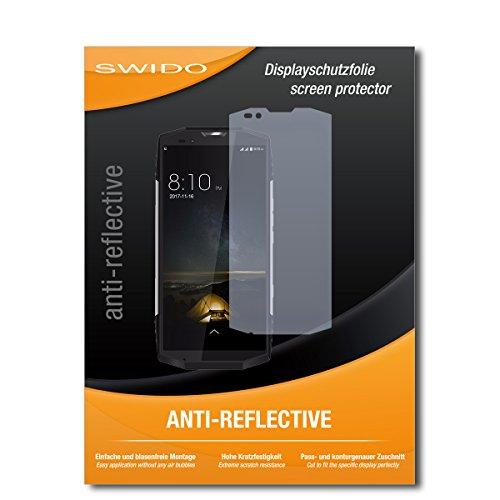 SWIDO Displayschutzfolie für Blackview BV9000 Pro [3 Stück] Anti-Reflex MATT Entspiegelnd, Extrem Kratzfest, Schutz vor Kratzer/Displayschutz, Schutzfolie, Panzerfolie