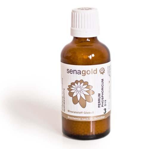 Schuessler Salz Nr.3 - Ferrum phosphoricum D12 - Globuli 50 g, laktosefrei