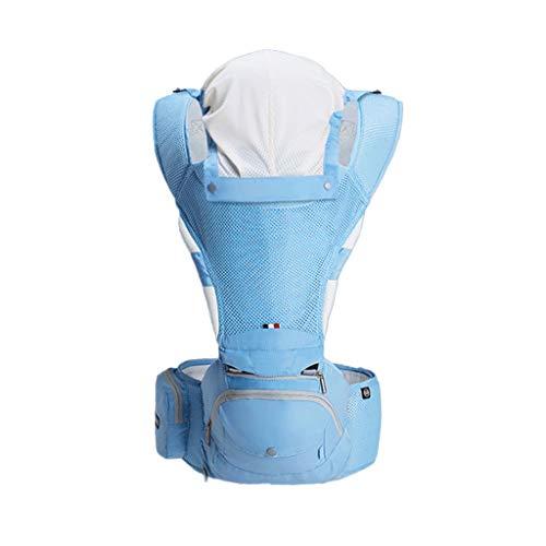 Porte-bébé Multifonction Bébé Respirant Assis sur la Taille Tabouret Amovible et indépendant pour l'été ( Color : A )
