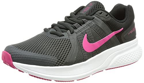 Nike W Run Swift 2, Scarpe da Corsa Donna, Dk Smoke Grey/Fireberry-Black, 39 EU