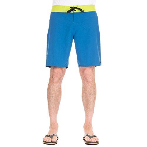 DC Clothing Trip Hoppin Short de Bain, Bleu (Snorkel Blue), (Taille Fabricant: W30) Homme