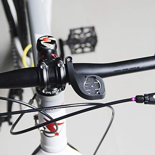 Yareta fietscomputer stuurstang houder voor Garmin Edge 200, 500, 510, 800, 810, 1000 en GoPro camera, zwart