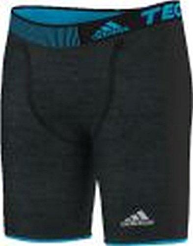 adidas Shorts Techfit Chill Tights Pantalón Corto, Hombre, Blanco/Azul, S