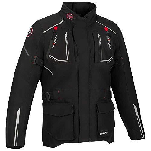 Bering Motorradjacken OURAL Schwarz, Schwarz, 3XL