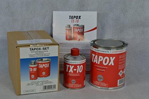 2 SETS FERTAN TAPOX 2-KOMPONENTEN EPOXY TANKVERSIEGELUNG;TANK;ROST;AUTO;MOTORRAD;Tankbeschichtung,Innenbeschichtung,Tankrestaurierung