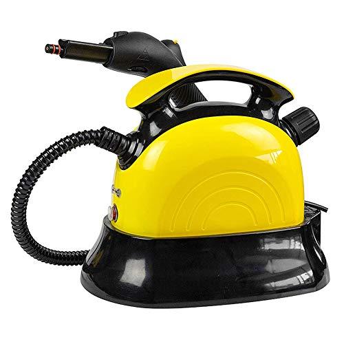 SYOSY Limpiadores A Vapor De Alta Temperatura 1500W, Limpia El Potente Aire Acondicionado De Descontaminación, Máquinas De Limpieza De Alfombras Domésticas Barredoras