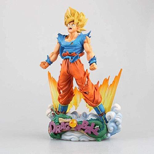 24cm Dragon Ball Z Super Saiyan Son Goku Anime Figurine PVC Figure Collection Juguetes