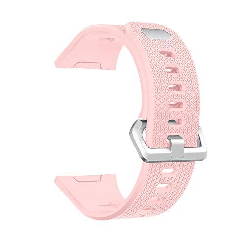 Pulseras de repuesto Voltic para Fitbit, correa de reloj de silicona inteligente para hombres y mujeres, correa de goma de liberación rápida para reloj inteligente