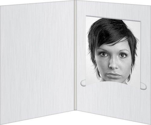 Daiber Profi-Line Lot de 100 pochettes de protection pour portraits Blanc mat 13 x 18 cm