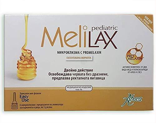 ABOCA Melilaz pediatric microenema pra lactantes y niños 6x5g