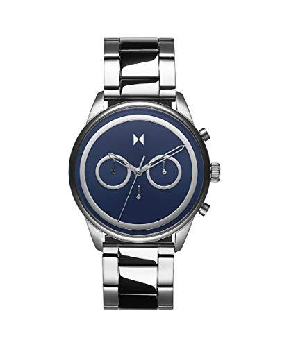 MVMT Herren Analog Quarz Uhr mit Edelstahl Armband 28000124-D