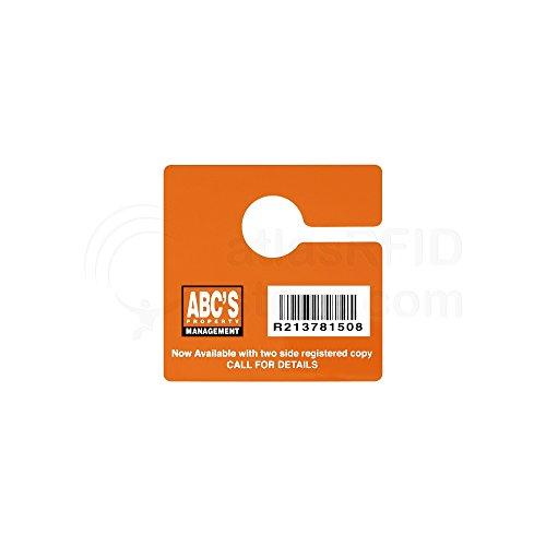 Why Should You Buy Vulcan RFID Custom Rearview Mirror Hang Tag (Alien G - 3.5 x 6.5 in) - 1,000 Tags