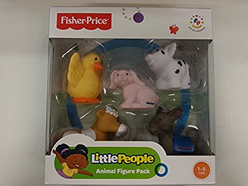 Fisher Price Little People Tiere Set 5 Stk -Bauernhoftiere BHY70 Little People Tierfiguren