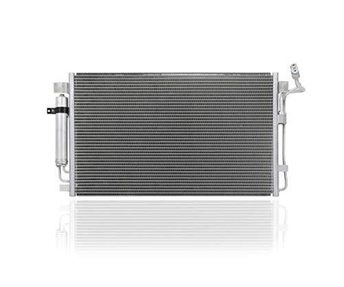A/C Condenser - Pacific Best Inc For/Fit 3639 Nissan Altima Sedan/Hybrid Altima Coupe Maxima w/Sensor
