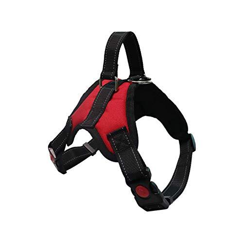 Hundegeschirr No-Pull Atmungsaktiv Einstellbar, Outdoor Easy Control für mittelgroße kleine Hunde