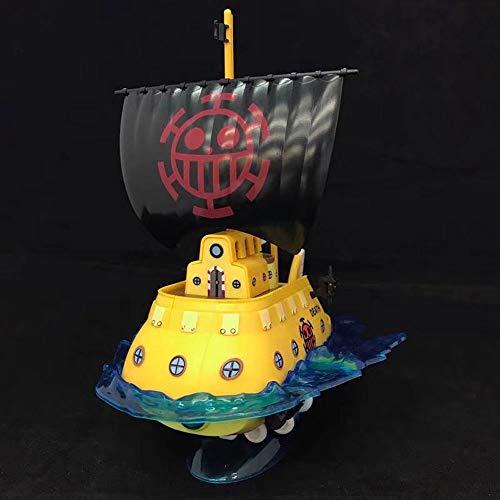 ZDYHBFE One Piece Anime Sun Meili Navy Barmy Blanco Barco Barco Submarino...