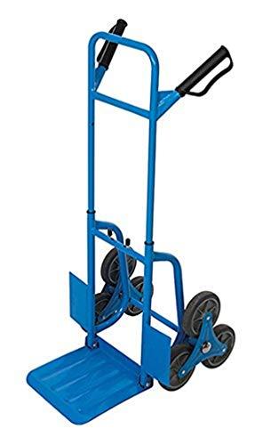 Silverline 736265 Carretilla de Transporte para escaleras, Azul