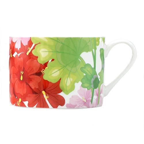 ProCook - Mug en porcelaine à la cendre d'os motif fleurs