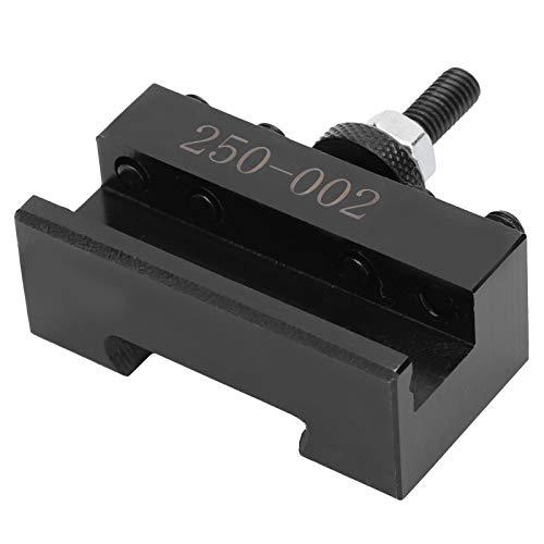 KUIDAMOS Quick Change 250-002 Portaherramientas de pistón Poste de Herramienta Pistón CNC Reemplazo de portaherramientas de torneado de Acero de Alta Velocidad y Alta precisión