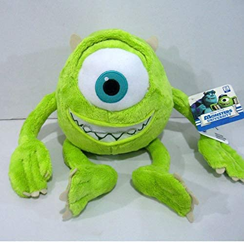Mike Monsters University Monster Mike Wazowski 60 cm juguete de felpa decoración de la habitación regalo de cumpleaños muñeca de peluche regalo creativo