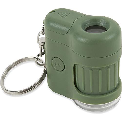 Carson MicroMini 20x LED & UV Pocket Microscope - Green