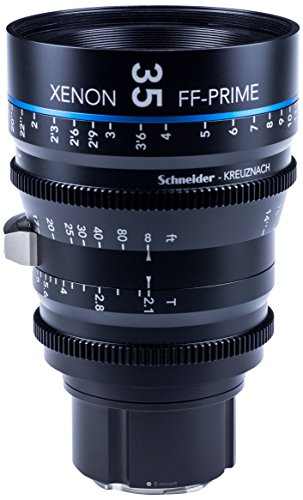 Schneider-Kreuznach 1085546 Cine Objektiv FF-Prime T2.1/35 mm, Sony E/ft schwarz