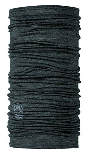 BUFF® SET - MERINO WOOL Tissu tubulaire + UP® Tissu tubulaire   Laine mérinos   Cou chaud   Echarpe   Foulard   Fichu   Chiffon multi, alle Buff Designs 2016:039. GREY
