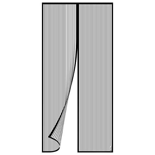 Philorn Magnet Fliegengitter Insektenschutz Magnetvorhang für Türen 36