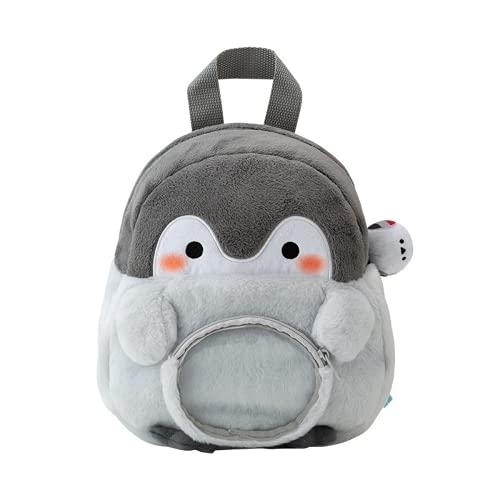 MINGPAI Pingüino de dibujos animados linda muñeca mochila jardín de infantes apertura regalo del día del estudiante para niños ? (1,23x23x10cm)