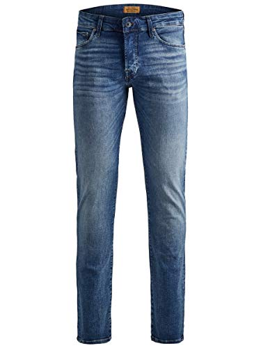 JACK & JONES Herren Slim Fit Jeans Glenn ICON JJ 357 50SPS 3632Blue Denim