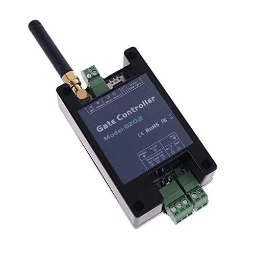 DENGHENG Apriporta GSM, Interruttore Remoto GSM, G202 Interruttore Relè Apriporta GSM Telecomando Accesso Controller Chiamata Gratuita