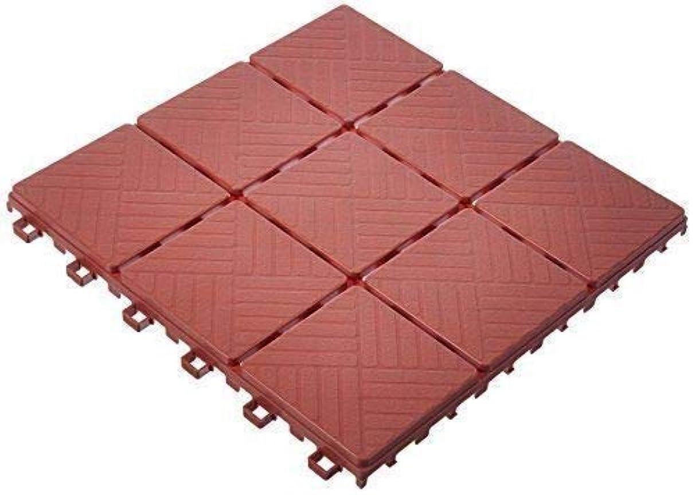 Alek...Shop Walkway Pavers Weatherproof Outdoor Deck Indoor Floor Tiles 12