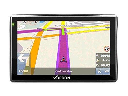 Vordon M13526 Navigationssystem (17,8 cm (7 Zoll), 42 Länder, Europa) Schwarz