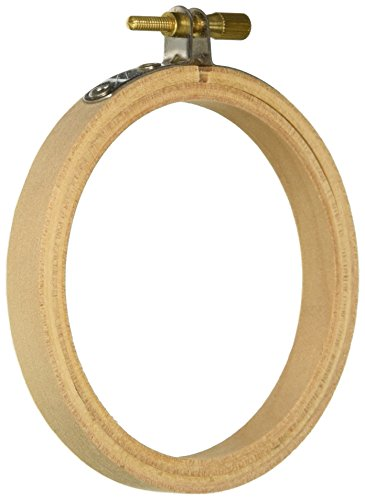 Wooden Embroidery Hoops Round 4 inches (6-Pack)