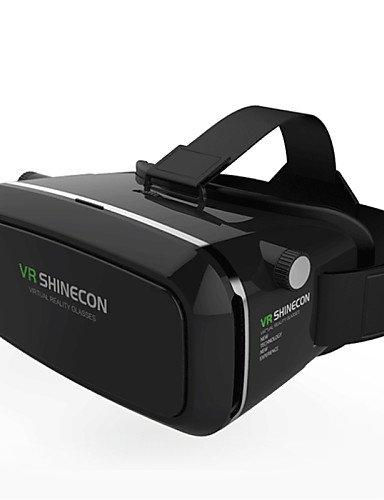 LEBULI VR Shinecon 3D Virtual Reality Glasses Head Mount Google Cardboard 3D Movie Game Glasses for 4.7 ~ 6 inch Smartphone , black LIU8