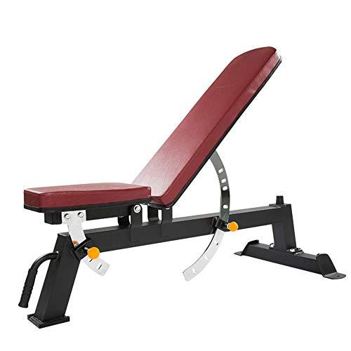SXXYTCWL Sit Up Banc réglable Banc de Musculation Pliable for Home Gym Haltérophilie Musculation Multifuction séance d'entraînement Banc Incline/Decline Incline Multi-Usage jianyou