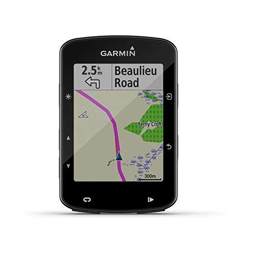 Garmin 520 Edge Plus Ciclocomputer cartografico con GPS, Cycle Map Europa e connettività smart, Display 2.3 ', Nero