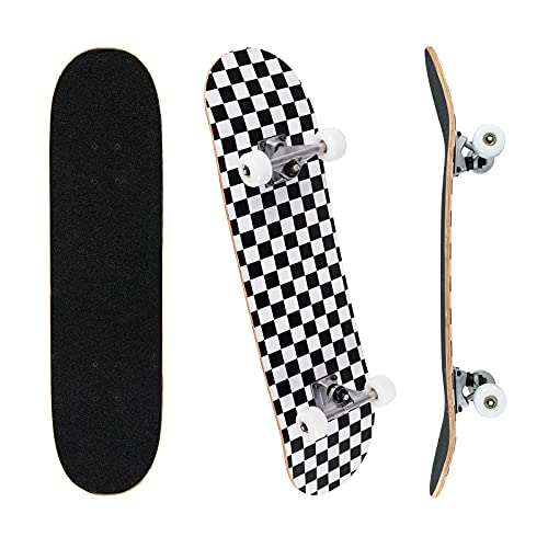 Jaoul Cruiser Skateboards for Beginners Complete Maple Skateboard 31 Inch for Girls Boys Youth...