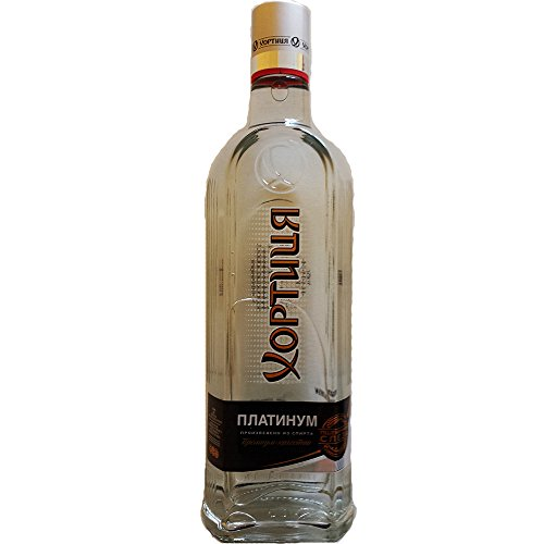 Vodka Khortytsa Platinum 0,7L ukrainischer Wodka Hortica