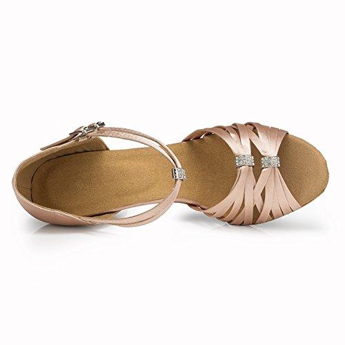 Minitoo ,  Damen Tanzschuhe , Beige – beige – Größe: 40 - 4
