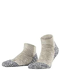 FALKE men's lodge hut shoes - 1 pair, size 39-46, various colors, 93% cotton - comfortable house stocking with silicone print, plush inside