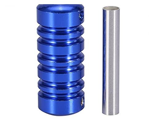 Apricot blossom 2 unids 22mm Aleación de Aluminio Tatuaje Tubo Tubo Tubo Azul Colores TATTULO MÁQUINA MÁQUINA Hander HABITACIÓN para Suministros Y Equipos DE Tatuaje