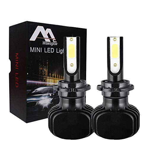 Wiswisglow D1S D2S D3S D4S D1R D2R D3R D4R 200W 20000LM LED Headlight Bulb Conversion Kit