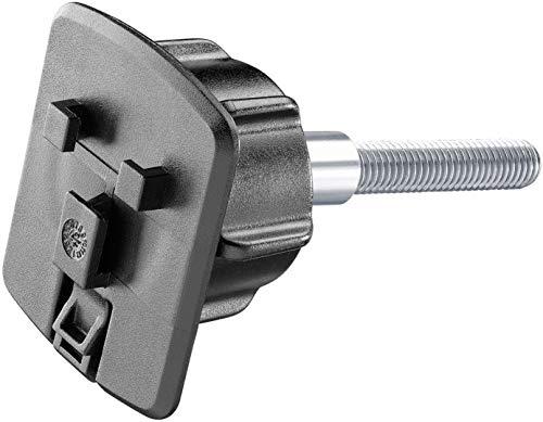 INTERPHONE SMRISER Support pour Riser (pontet) avec boulons M8 x 55/60/65mm pour Les séries d'étuis PROCASE/ICASE/UNICASE, Noir