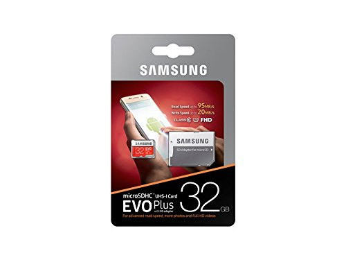 Samsung Teflon Evo Plus 32GB 95MB/S Class 10 Micro SD with Adapter