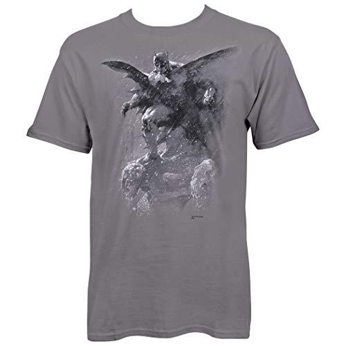 Batman Grey Hush Paint by Jim Lee Camiseta