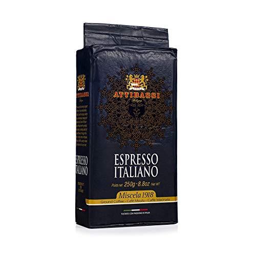 Attibassi Espresso Italiano Medium Roast Premium Ground Coffee 88 oz  Pack of 1