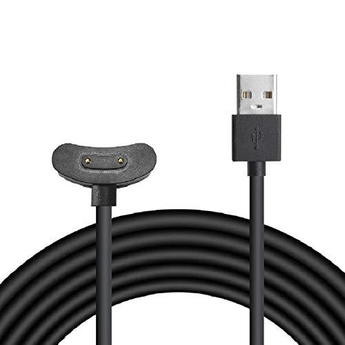 GEEMEE Cargador Cable para Ticwatch Pro 3, USB Smart Watch Charger Dock...