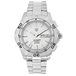 TAG Heuer Men's WAF2011.BA0818 Aquaracer Silver Dial Stainless Steel Automatic Watch