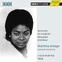 マーティナ・アーロヨ/リートの夕べ1968年 (Liederabend 1968 / Martina Arroyo, Leonard Hokanson) [輸入盤]